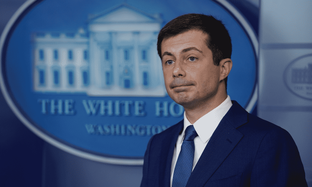 Image for Paging Pete: Buttigieg Blasted by GOP for Being MIA During Transportation Crisis.